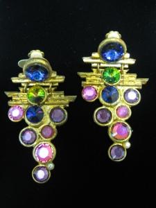 Bright Bejeweled Earrings